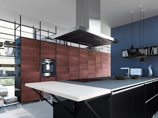 Meccanica | demode engineered by Valcucine Valcucine CuisinePlans de travail