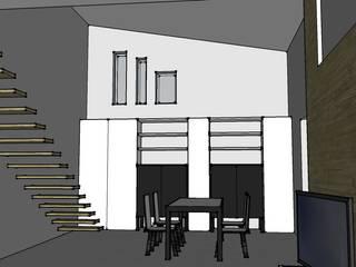 Bozze 3D soggiorno:  in stile  di aLL - servizi di architettura