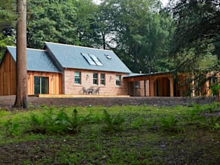 Rear Elevation: country Houses by Architects Scotland Ltd