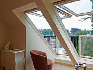Balcony Windows Modern windows & doors by Architects Scotland Ltd Modern