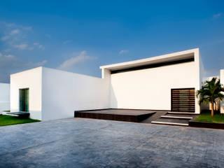 Balcon, Veranda & Terrasse modernes par Arturo Campos Arquitectos Moderne