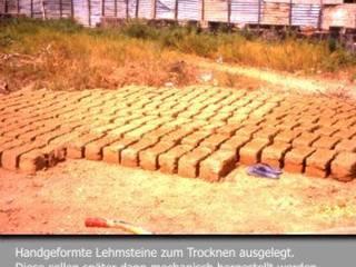 Lehmsteine mit der Handgeformt:   von eiwa Lehm GmbH