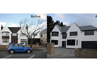 Alwoodley Lane:   by Studio J Architects Ltd