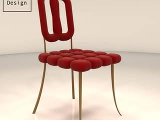 La chaise Islet par Print-out / james lenglin design Moderne