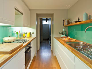 House remodelling in South Bristol:  Kitchen by Dittrich Hudson Vasetti Architects, Modern