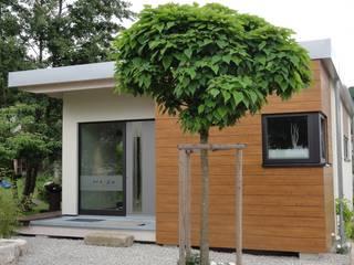 Büro-Pavillion Moderne Bürogebäude von Pfriem-Innenarchitektur Modern