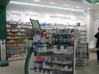 Farmacia Puga Málaga de Panatta Diseño Comercial Mediterráneo