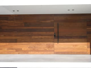 ZAAV Arquitetura ミニマルスタイルな 壁&床
