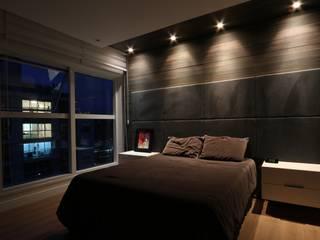 ZAAV-Apartamento-Interiores-1318: Quartos  por ZAAV Arquitetura,Minimalista