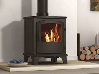 Hillandale Monterrey 5 Multi Fuel / Wood Burning DEFRA Approved Stove Direct Stoves SoggiornoCamini & Accessori