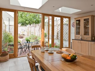 Musician's house in North Bristol:  Dining room by Dittrich Hudson Vasetti Architects,
