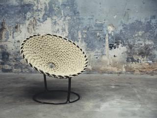 Knotted chair:   door Studio Rik ten Velden, Tropisch