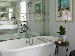 Bathrooms Kamar Mandi Modern Oleh Mirrorworks, The Antique Mirror Glass Company Modern
