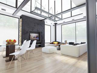 Частная вилла: Гостиная в . Автор – Diamir Interiors