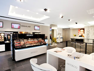 Vue générale de la boutique: Espaces commerciaux de style  par SCALAA ARCHITECTES