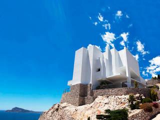 Claire Dove Casas de estilo mediterráneo