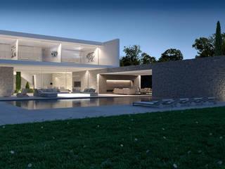 RZS | Casa en un campo de Golf Casas de estilo minimalista de Gallardo Llopis Arquitectos Minimalista