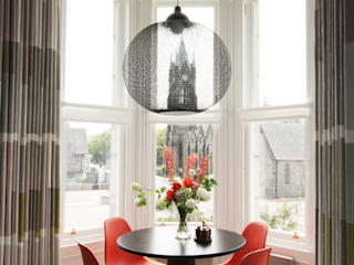 Flat Renovation, Aberdeen, Scotland Ruang Makan Modern Oleh ABN7 Architects Modern
