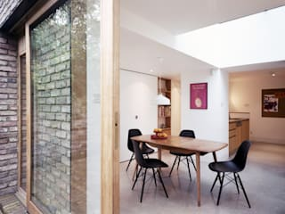 House Extension & Alterations, Islington:  Dining room by ABN7 Architects