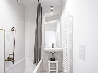 eclectic Bathroom by edit home staging