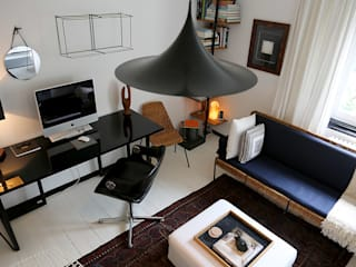 Salle multimédia originale par edit home staging Éclectique