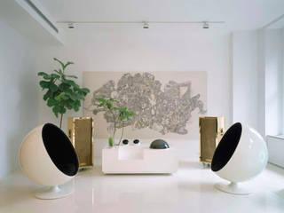 Salas / recibidores de estilo  por studioMDA, Minimalista