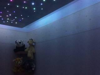 Small starlight ceiling for nursery Lancashire design ceilings Modern nursery/kids room