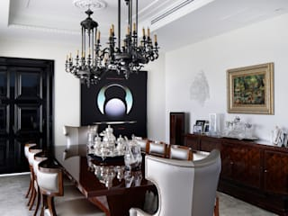 Eclectic style dining room by homify Eclectic