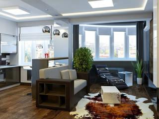 Квартира студия в ЖК «Сункар» от Murat Sabekov