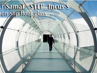 CriSamarSTEP_Incus-S. Nonslip floor glass.:  de estilo  de SEVASA