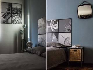 Arredare con le immagini Camera da letto in stile industriale di cristina leone architetto Industrial
