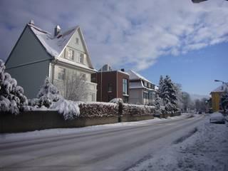 EFH in Konstanz: ausgefallene Häuser von Ensinger Architekt