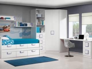 dormitorios jubeniles modernos lacados de muebles dalmi decoracion s l Moderno