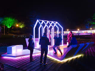 Gardens of Light Festival by Michael Grubb Studio
