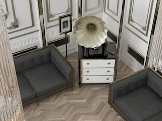 Living room by MHD Design Group, Classic