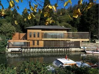 Nevzat Sayın Mimarlık Hizmetleri – GÖKSU OFIS:  tarz Ofis Alanları