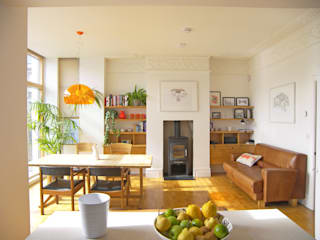 House for a mathematician in Bristol:  Dining room by Dittrich Hudson Vasetti Architects,