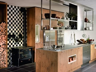 Rustic style kitchen by KH System Möbel GmbH Rustic