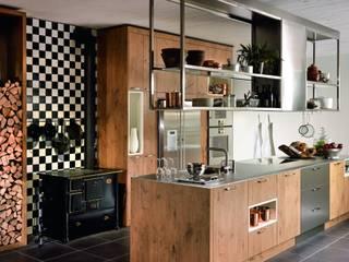 KH System Möbel GmbH Rustic style kitchen