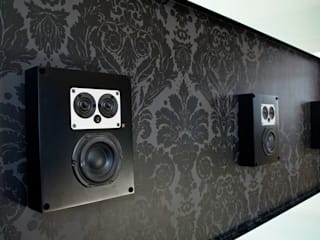 Artcoustic Home Cinema Modern style media rooms by Finite Solutions Modern