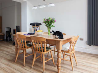 Extension to an Edwardian house in Bristol:  Dining room by Dittrich Hudson Vasetti Architects,