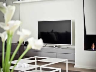 Salas de estilo minimalista de BARBARA BARATTOLO ARCHITETTI Minimalista