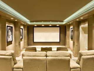Home theater Belgie van Martin van Essen Keukens en Interieurs