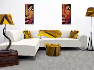 From Africa Modern living room by From Africa Modern