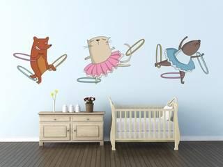 Vinilos para habitaciones infantiles de Shoptoshop.com Moderno