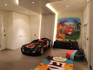 Contemporary Classical Villa in Kemer Golf & Country Orkun Indere Interiors Nursery/kid's room