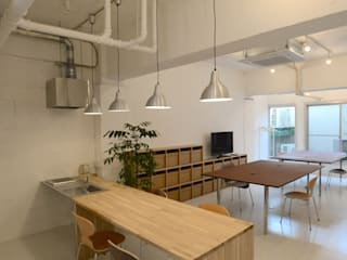 Kitchen by SHUSAKU MATSUDA & ASSOCIATES, ARCHITECTS,