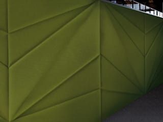 Muurbloem Design Studio_Collection Folds & Pleats: modern  door Muurbloem Design Studio, Modern