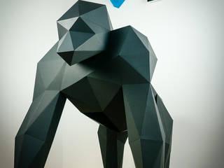 Papercraft Gorilla:   von Papertrophy