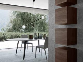 NOVAMOBILI REVERSE WOHNZIMMER: minimalistische Wohnzimmer von Livarea